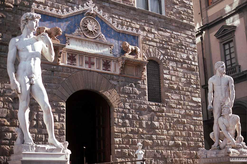palazzo vecchio entrance - photo #1