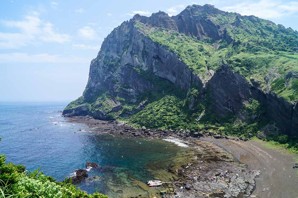 East Korean Bay Seongsan Ilchul...