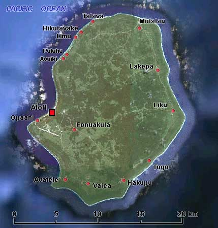 Niue Photos History OzOutback - Niue map