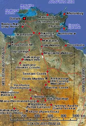 Map Northern Australia.Northern Territory Australia Photos History Ozoutback
