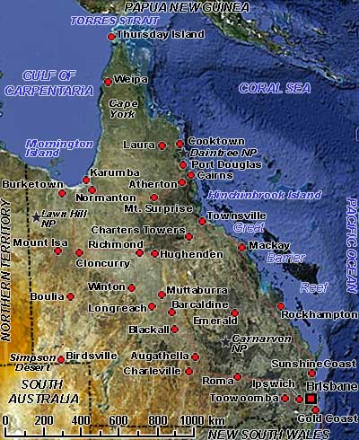 Queensland  Australia  Photos  History  OzOutback